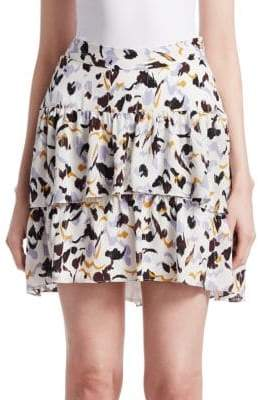 A.L.C. Baxter Silk Mini Skirt