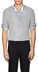 Prada Men's Cashmere Crewneck Sweater-Gray
