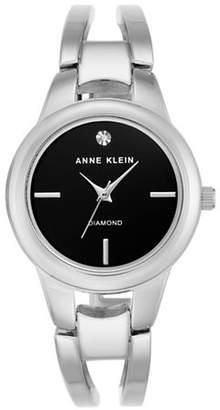 Anne Klein AK-2629BKSV Analog Bracelet Watch