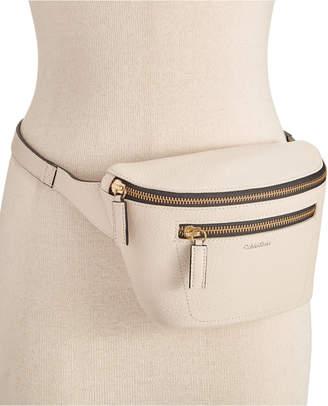 Calvin Klein Pebble Leather Belt Bag