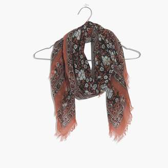 Madewell Square Border Scarf