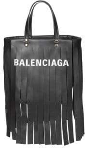 Balenciaga Laundry Cabas Leather Crossbody Bag