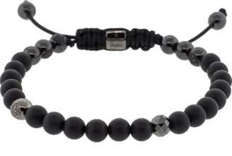 Black Diamond SHAMBALLA JEWELS And Onyx Bead Bracelet