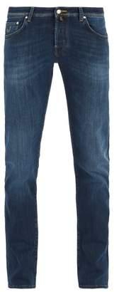 Jacob Cohen Mid Rise Slim Fit Jeans - Mens - Blue