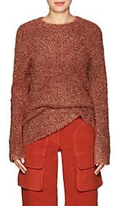 Sies Marjan Women's Courtney Metallic Knit Sweater-Rust
