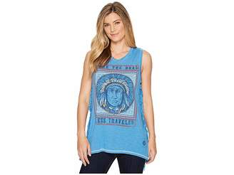 Double D Ranchwear Road Less Traveled Tank Top Women's Sleeveless