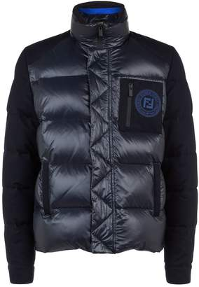 Fendi Puffer Badge Jacket