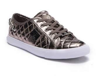 G by Guess Backerett Metallic Lace-Up Sneaker