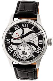 Reign Bhutan Automatic Watch - Silvertone/Black