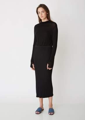 Totême Murano Ribbed Slip Skirt