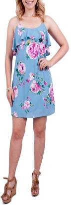 Everly Floral Shift Dress $58 thestylecure.com