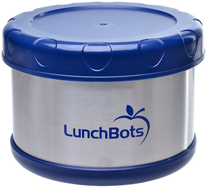 LunchBots Thermal Insulated Food Container, White, 16 oz