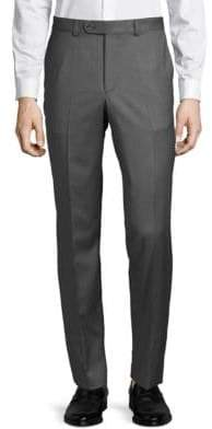 Saks Fifth Avenue Mid-Rise Wool Trousers