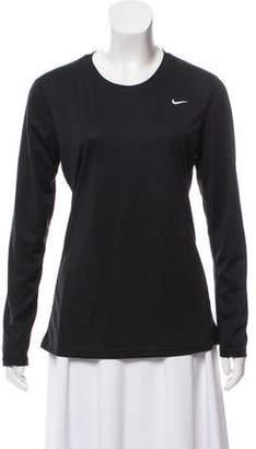 Nike Long Sleeve Scoop Neck Top