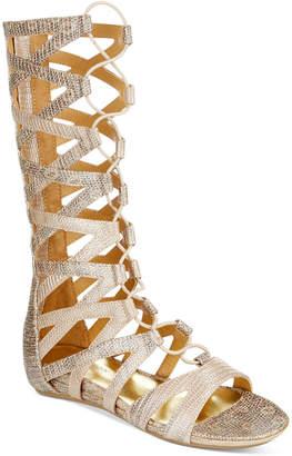 Kenneth Cole Lost Gladiator Sandals, Little Girls (11-3) & Big Girls (3.5-7) $56 thestylecure.com