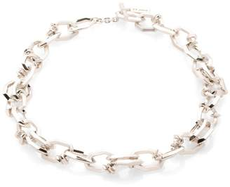 St. John Metal Chain Link Necklace