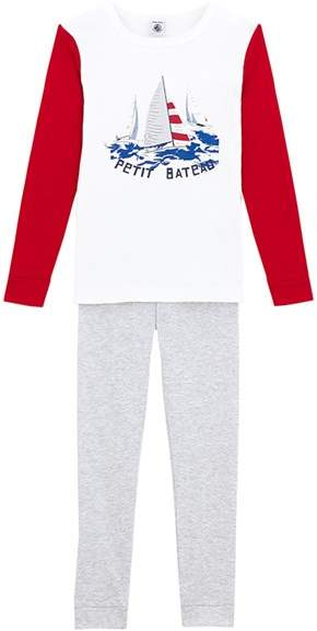 Boys Pajamas With Motif