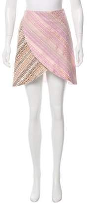 Rodarte Asymmetrical Printed Skirt