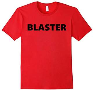 Blaster 1980's Arm Wrestling nostalgic Humor T-Shirt Tee