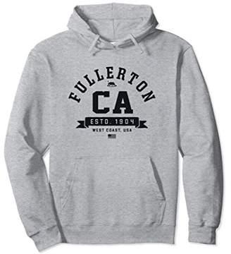 Retro Fullerton Sweatshirt Hoodie College Sports Font CA USA