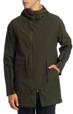 Saks Fifth Avenue x Anthony Davis X Anthony Davis Solid Anorak Jacket