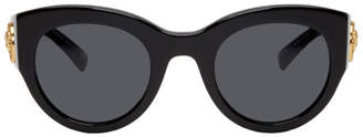 Versace Black Cat-Eye Sunglasses