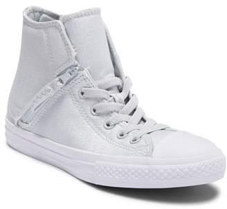 Converse Chuck Taylor All Star Pull-Zip High Top Sneaker (Little Kid & Big Kid)