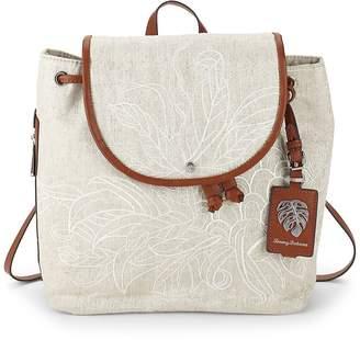Tommy Bahama Women's Leaf Drawstring Backpack