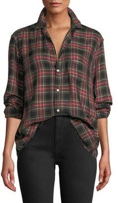 Frank And Eileen Tartan Check Long-Sleeve Button-Down Shirt