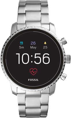 Fossil New Q Men Explorist Gen 4 Hr Stainless Steel Bracelet Touchscreen Smart Watch 45mm