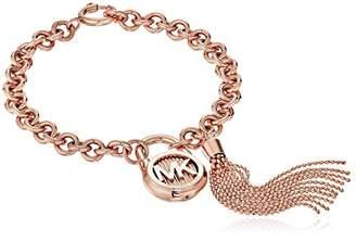 Michael Kors Steel Padlock Chain Bracelet