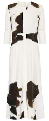 Victoria Beckham Printed stretch jersey dress