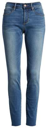 Leith High Waist Cutoff Skinny Jeans