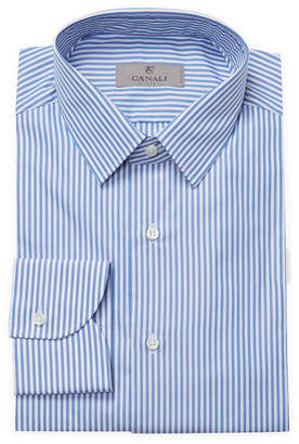 Canali Striped Slim Fit Shirt
