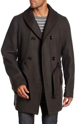 BOSS Mackinaw Double Breasted Coat