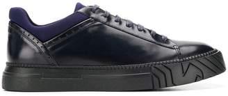 Emporio Armani contrasting trim sneakers