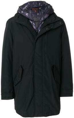 Woolrich layered padded jacket