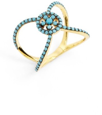 Women's Karen London Knot Ring $80 thestylecure.com