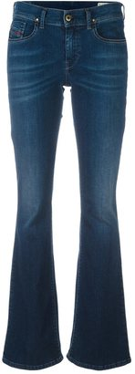 Diesel stretch flared jeans $153.03 thestylecure.com