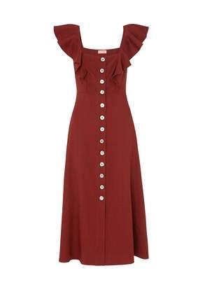 Dahlia Kitri Linen Dress