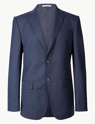 Marks and Spencer Big & Tall Indigo Regular Fit Jacket