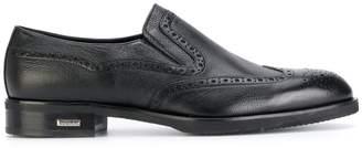 Baldinini brogue detail loafers