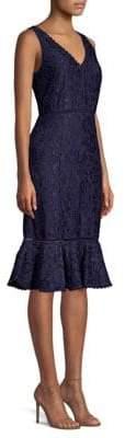 Draper James Lace Sleeveless Tulip Dress