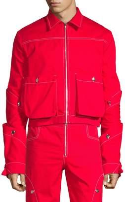 S.P. Badu Contrast Stitch Jean Jacket