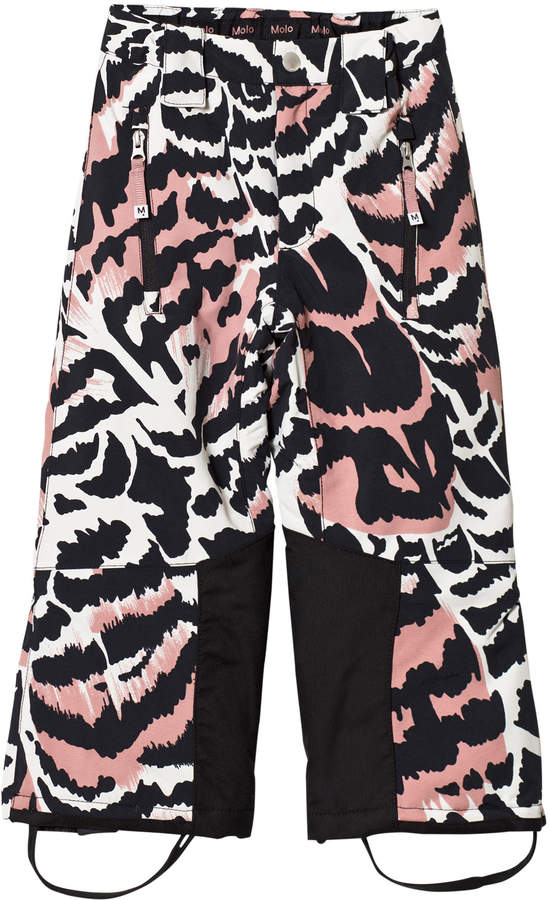 Molo Jump pro Woven pants Graphic Feathers