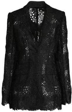 Elie Tahari Wendy Floral Lace Jacket