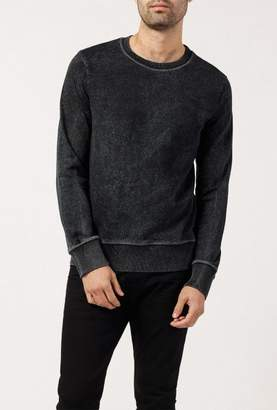 Nudie Jeans Seven Blackened Indigo Sweatshirt