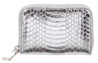 Michael Kors Metallic Snakeskin Wallet
