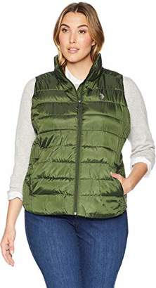 U.S. Polo Assn. Women's Plus Size Puffer Vest