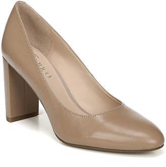 Franco Sarto Vanity Block-Heel Pumps Women's Shoes